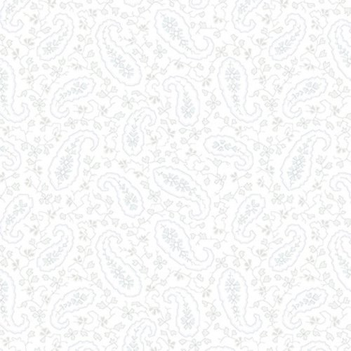 1095-09 108'' Blank Quilting White/Grey Mayfair Wide Backing