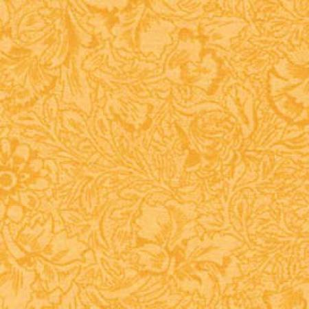 3101WB03 108'' Benartex Yellow Floral Wide Backing