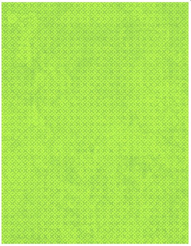 Essentials 108 wide back Green Criss Cross