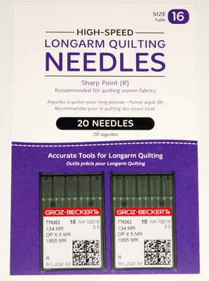 Needles - Package of 20 (HQ Infinity 100/16 134MR-3.5)
