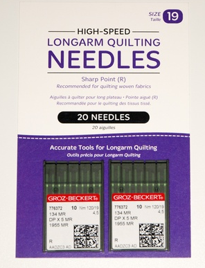 Needles - Package of 20 (HQ Infinity 120/19 134MR-4.5)