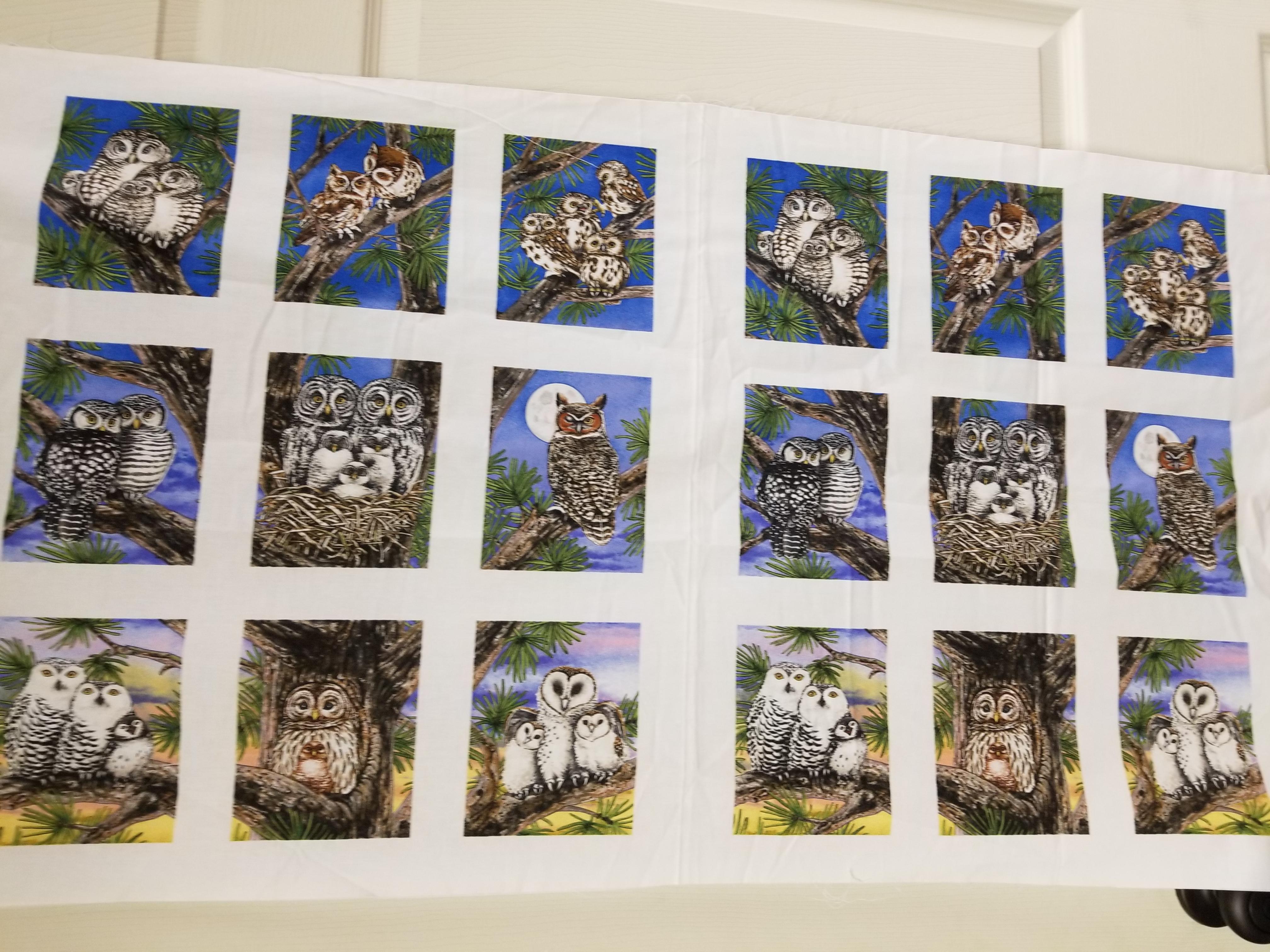 Owl panel Elizabeth's Studio