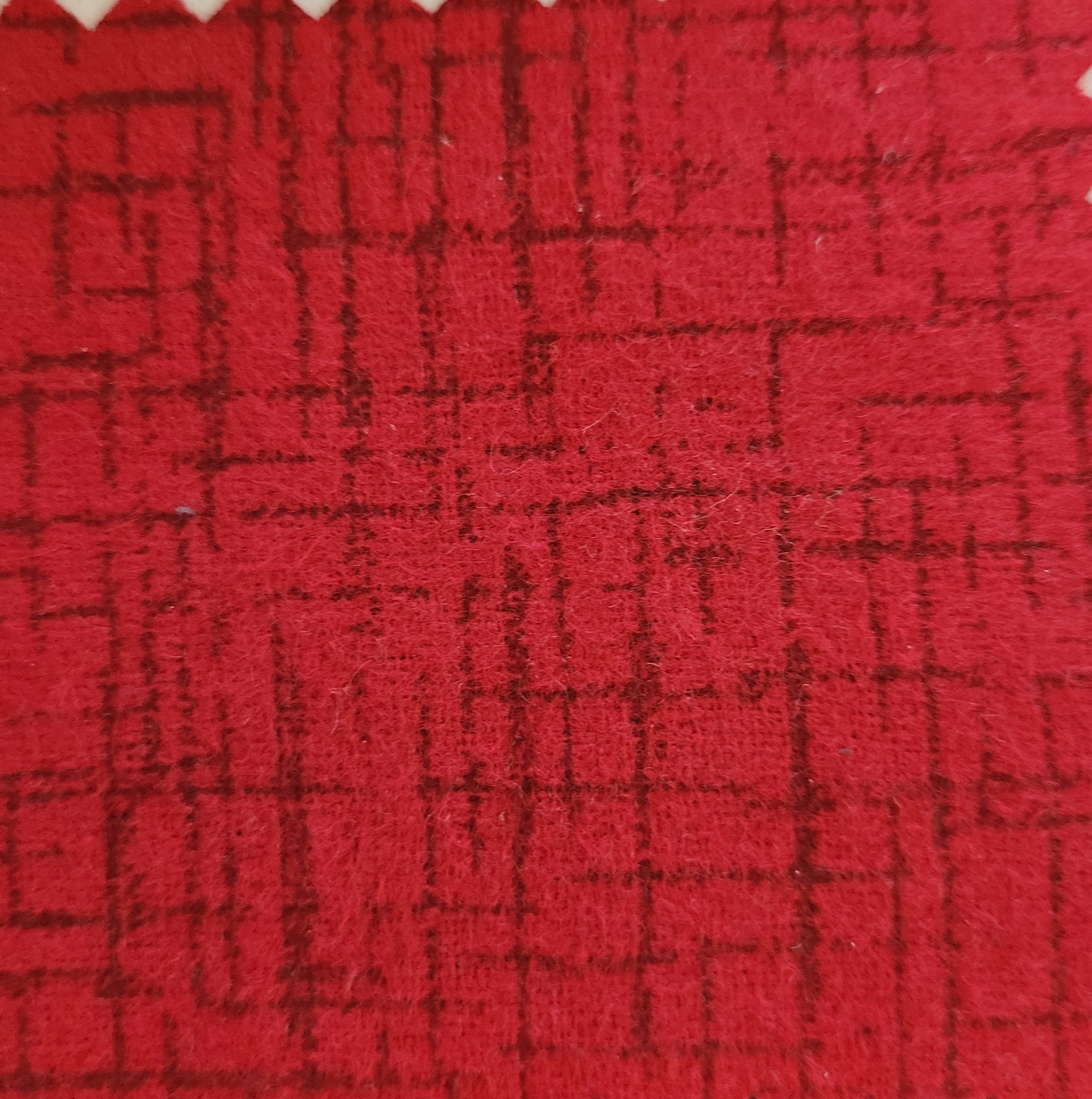Betula Cotton flannel 110x98 - Red