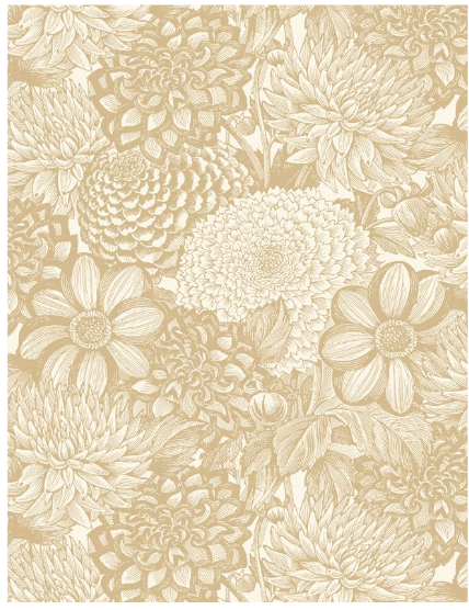 Essential 108 Floral Toile
