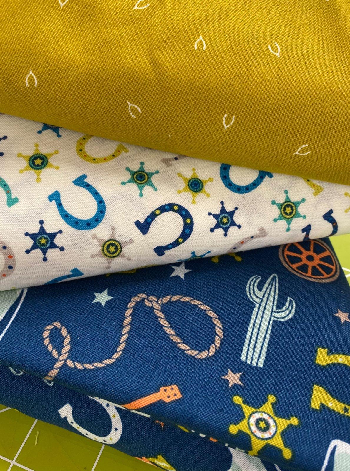 3 yard coordinating fabric bundles