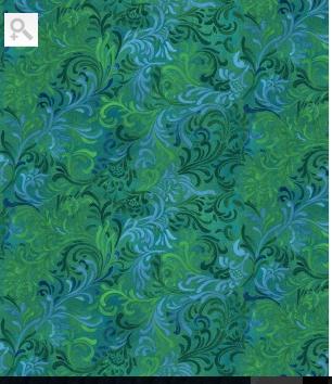 FQ Essentials Embellishment Blue/Green