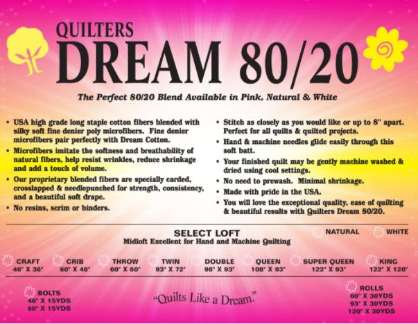 QD 80/20 Blend Twin
