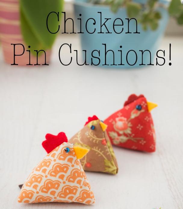 Chicken Pincushion Kit