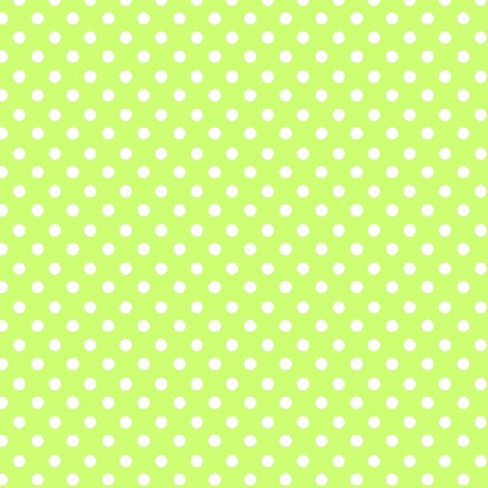 Panda-monium - 2 ply Flannel- Dots-Green
