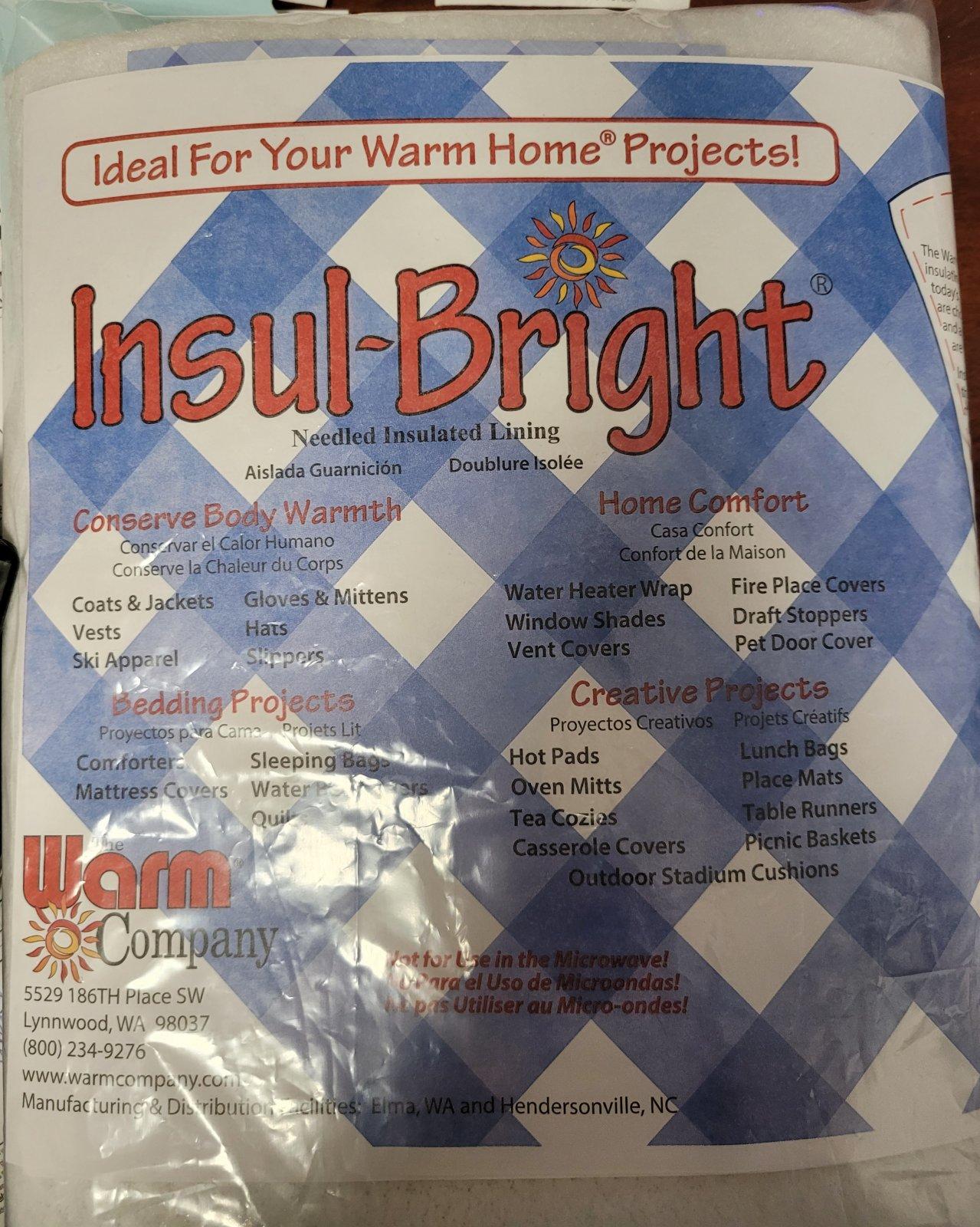 Insul~Bright - Pre-Cut 36x45