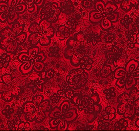 6939-CHERRY , Isadora 108 by Blank Quilting