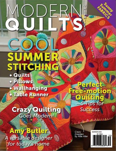 MODERN QUILTS SUMMER 2015