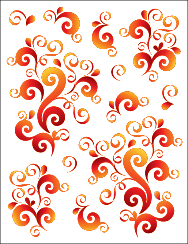 Oodles of Doodles - Tangerine - Tattoo