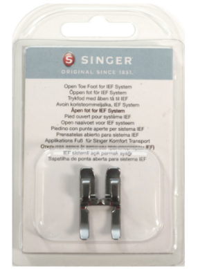 SINGER OPENTOE FOOT FOR IEF PACKAGED C240, C5
