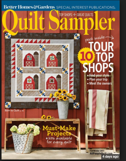 Quilt Sampler Fall/Winter 2017