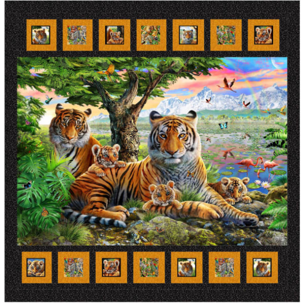 Kit of Jungle Family Panel