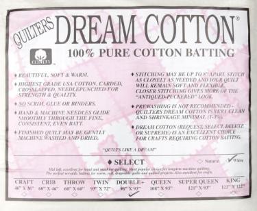 QD WHITE COTTON SELECT DOUBLE