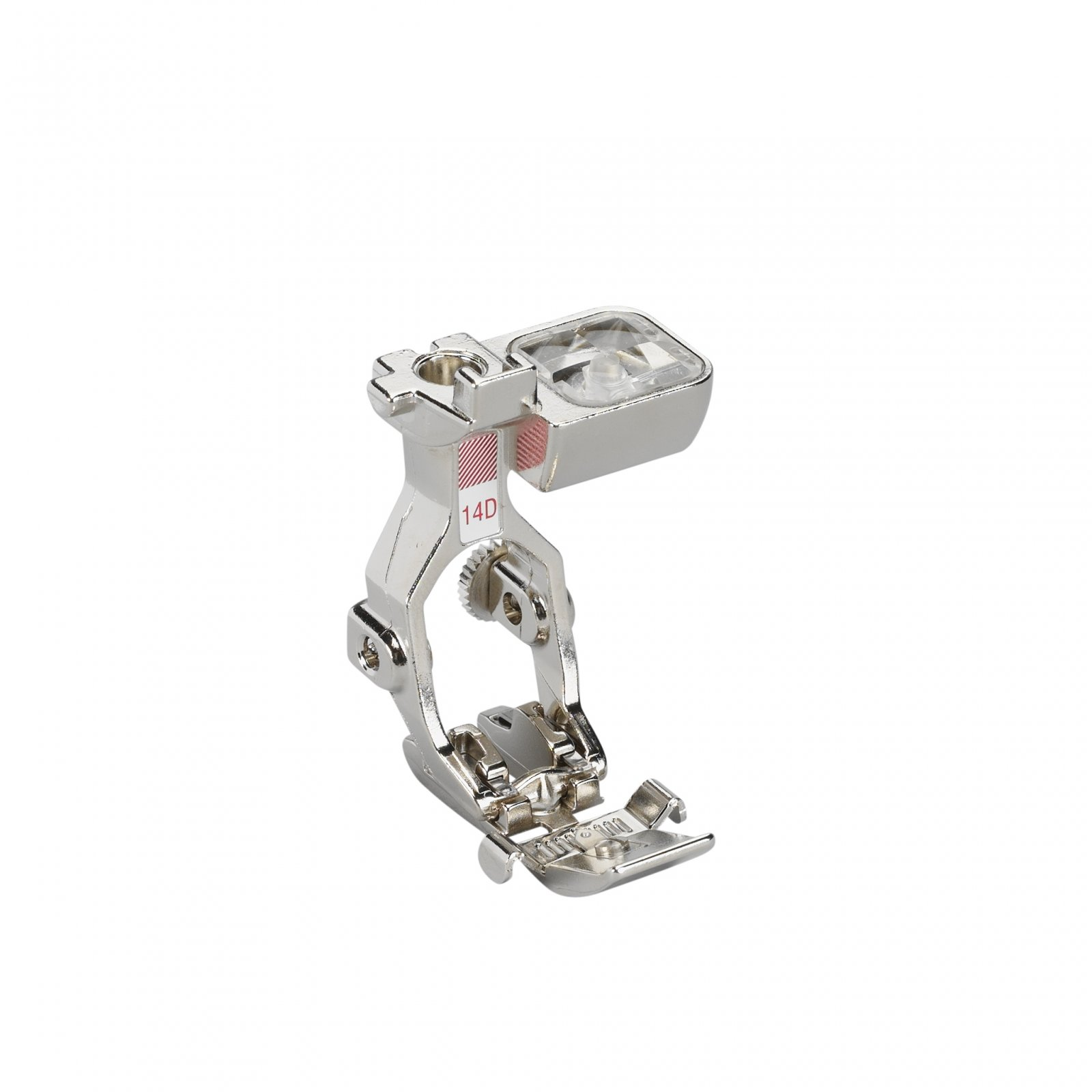 #14D Dual feed Zipper foot with guide