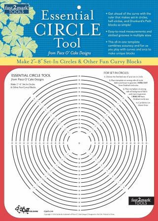 fast2mark Essential Circle Tool from Piece O' Cake Designs