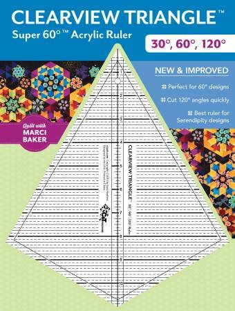 Clearview Triangle Super 60 Ruler