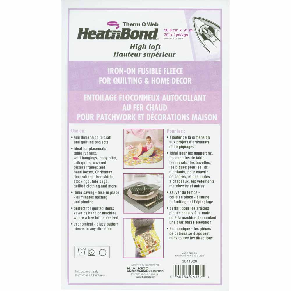 Superbe HeatnBond Fusible Fleece 3041628 1PK