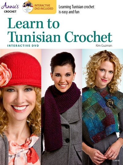 LEARN TO TUNISIAN CROCHET WITH DVD