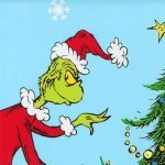 HOW THE GRINCH STOLE X-MAS PANEL#86