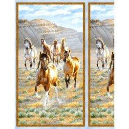HORSE FULL SIZE PANELUNBRIDLED #13