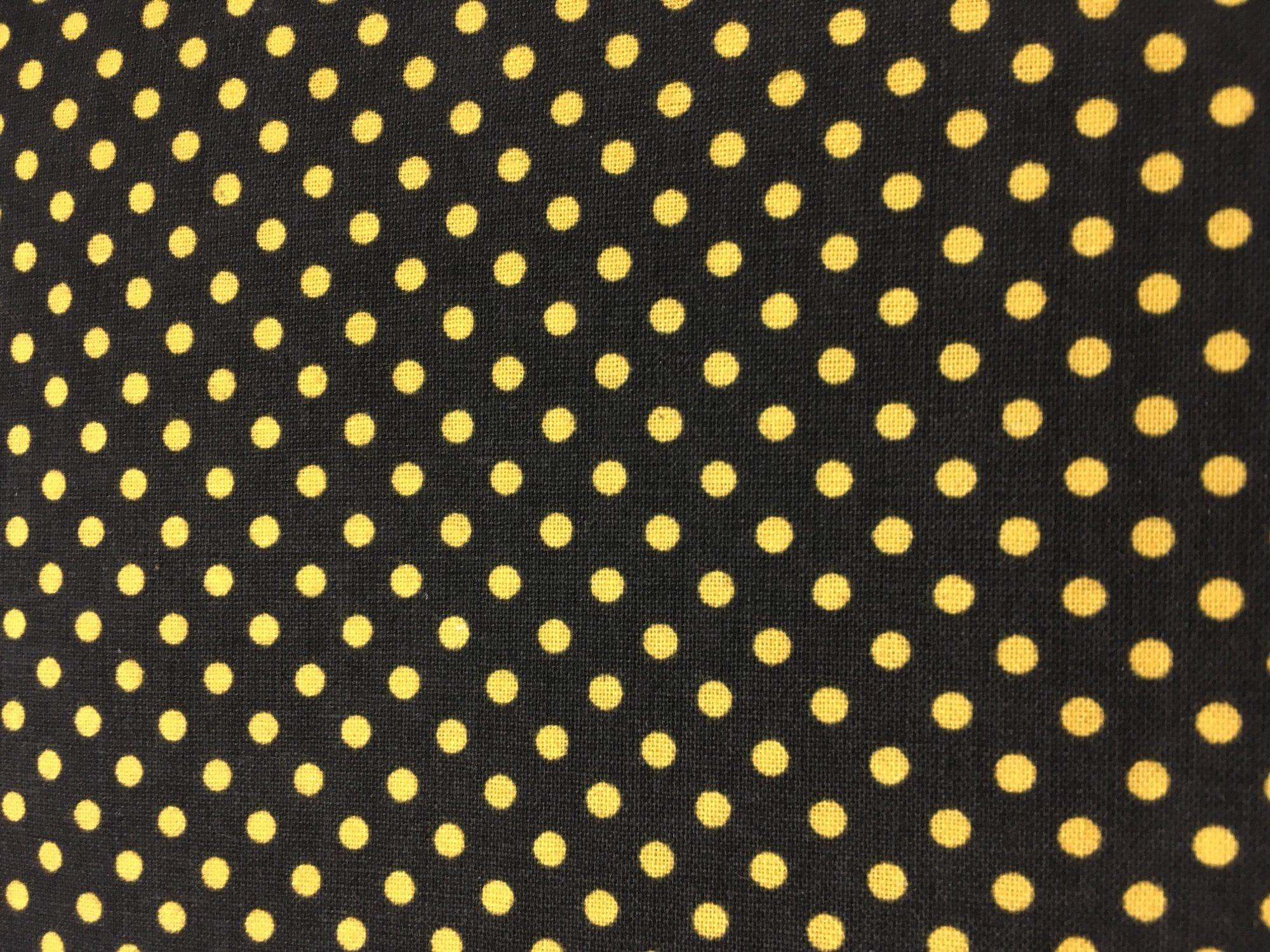 Black w yellow dot 86434-995