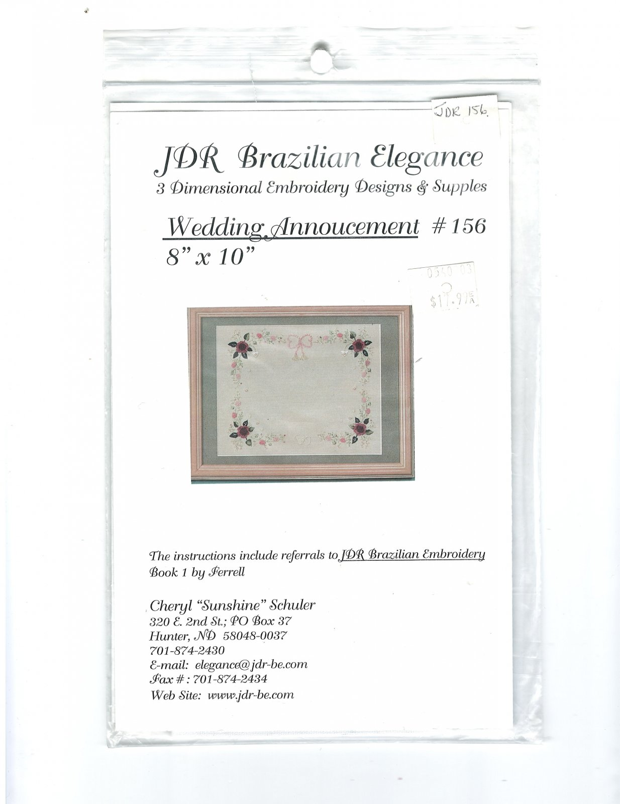 JDR Wedding Anouncement