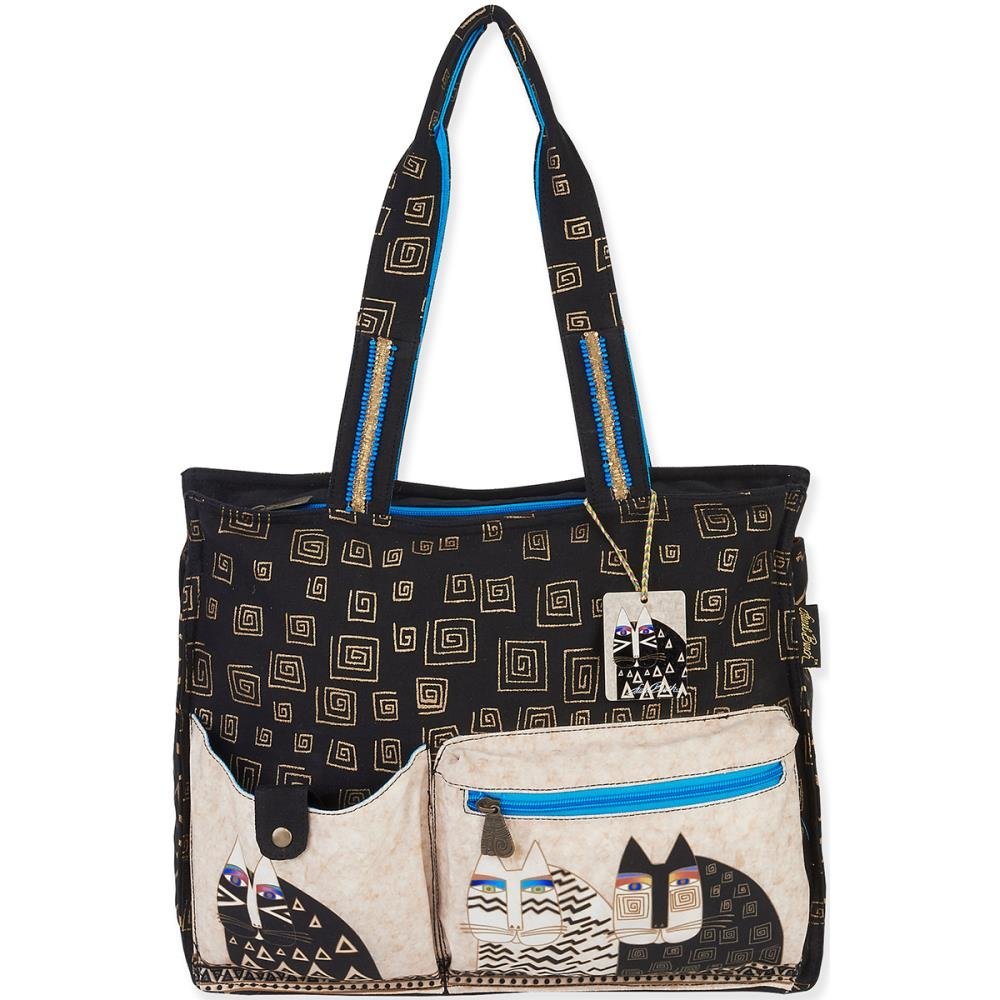 LAUREL BURCH CANVAS TOTE