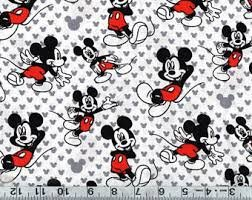MICKEY MOUSE TOSS COTTON KNIT 60006G