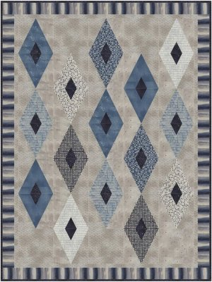 Auntie Em'sQuilts- Crystalized Pattern