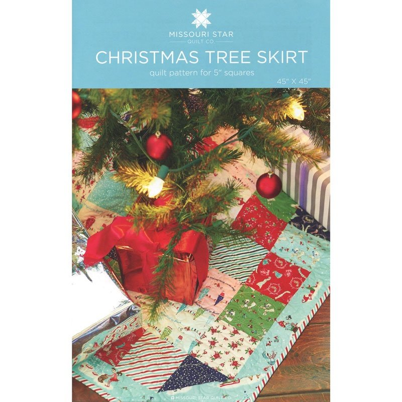 MSQC-Christmas Tree Skirt Quilt Pattern