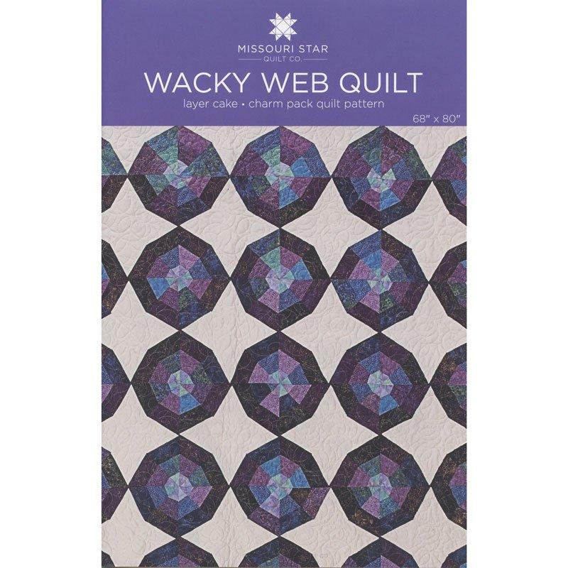 MSQC-Wacky Web Quilt Pattern