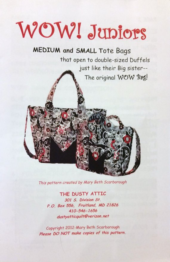 DA-The WOW Bag Jr - Small and Med