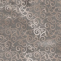 Ombre Scroll Wide Backing in Stone by Quilting Treasures