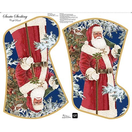 Santa's Stocking Sew and Go