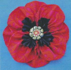 Pattern Proud Poppy Brooch La Todera