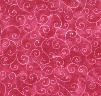 Moda Swirls Raspberry 9908 62