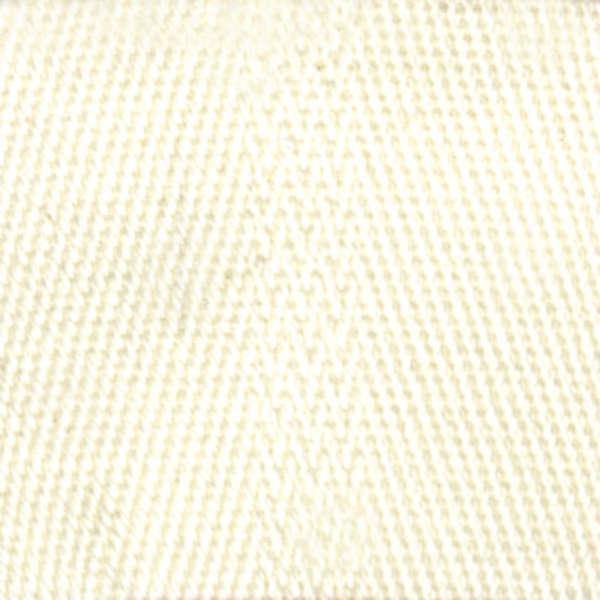 1 White Cotton Webbing for Purse Straps