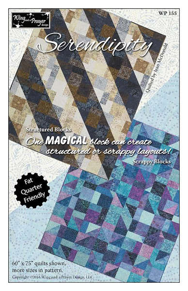 Pattern Serendipity by Wing and a Prayer Designs