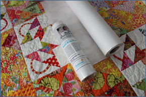 Quilters Select by Alex Anderson Appli-Web Plus 1/2 x 25 yards