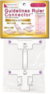 Ruler Guidelines 4 Quilting Quilt Ruler Connector Guidelines Rulers