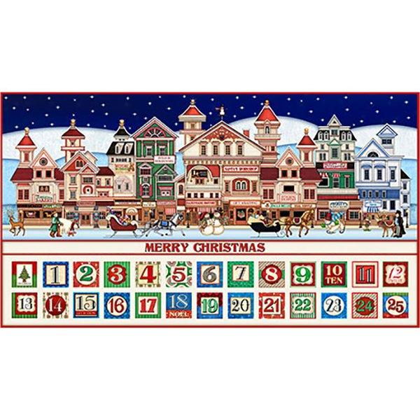 Santa Claus is Coming Advent Calendar Kit