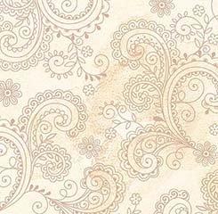 Wide Back Remnant, Avalon Ecru by QT Fabrics , 58 x 108 app