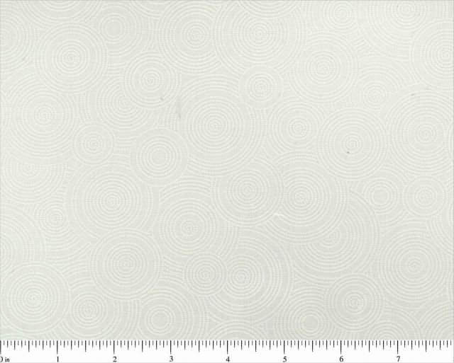 108 Circles in White