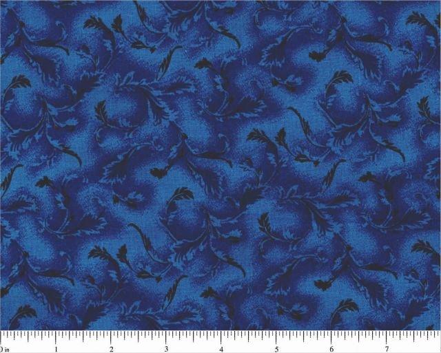 108 Fern in Dark Blue by Choice Fabrics