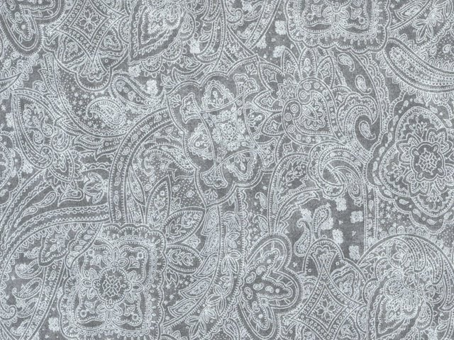 Subtle Paisley in Light Grey  by Choice Fabrics, 108 Wide - copy