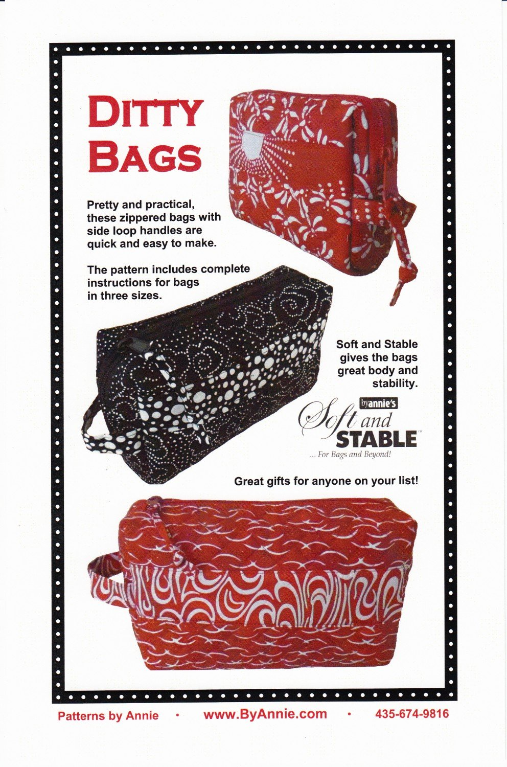 Ditty Bags by Annie